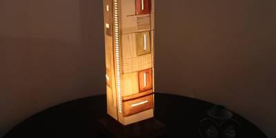 """Lampe """"CORES"""":  de style  par CORES ART"""