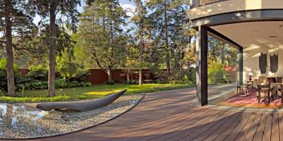 Projekty,  Taras zaprojektowane przez Lopez Duplan Arquitectos