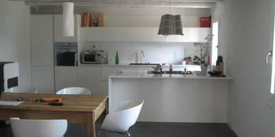 casa dema cucina in stile in stile moderno di architetti baggio