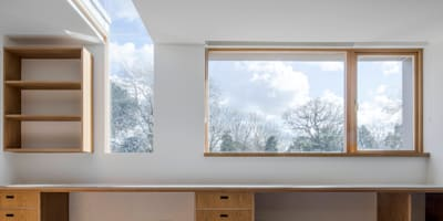 Finchley loft conversion: modern Houses by Satish Jassal Architects