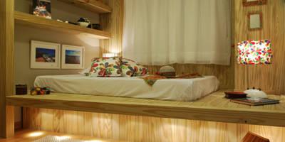 Dormitório Menina Praia:   por ARQ Ana Lore Burliga Miranda