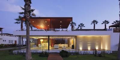 Casa P12: Casas de estilo moderno por Martin Dulanto