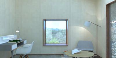 Projekty,  Salon zaprojektowane przez Belle Ville Atelier d'Architecture