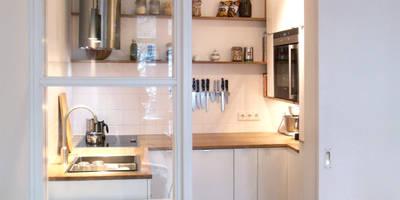 Miniküche: moderne Küche von studio jan homann