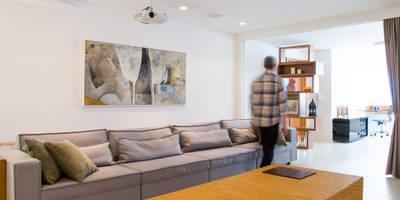 Salas / recibidores de estilo moderno por João Luís Linck | Arquitetura