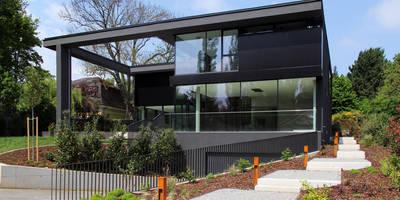 Black Box: minimalistische Häuser von Architekt Zoran Bodrozic