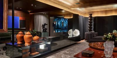 Sala Lounge: Salas de estar clássicas por Gislene Lopes Arquitetura e Design de Interiores
