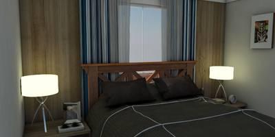 Suite Master:   por Deise Luna Arquitetura