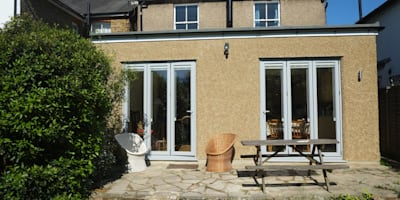 Single Storey Extension Reginald Road - Northwood:  Windows  by London Building Renovation