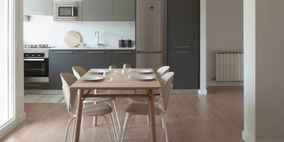 Cocinas de estilo escandinavo por Bade interiorismo