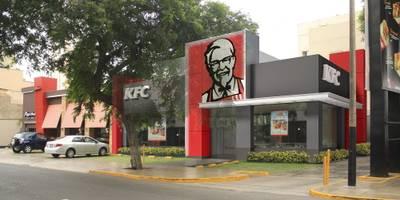 KFC ARMENDARIZ : Espacios comerciales de estilo  por ARKILINEA