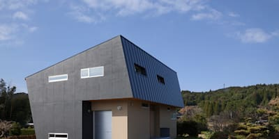 Bonbonniere: 田村の小さな設計事務所が手掛けた家です。