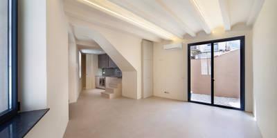 Salas / recibidores de estilo mediterraneo por Lara Pujol     Interiorismo & Proyectos de diseño