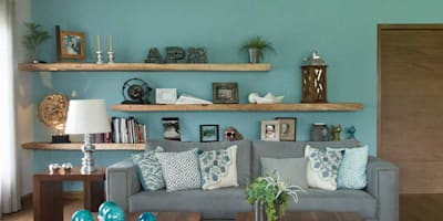 modern Living room by MARIANGEL COGHLAN