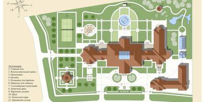 Усадьба Гринфилд: Дома в . Автор – Архитектурное строительное бюро КАРЛОСН и К.