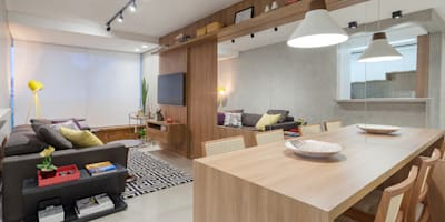 Comedores de estilo moderno por Amis Arquitetura & Design