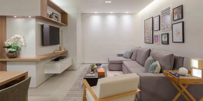 Salas de estilo moderno por Amis Arquitetura & Design