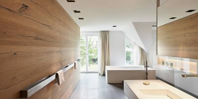 Casas de banho modernas por Philip Kistner Fotografie