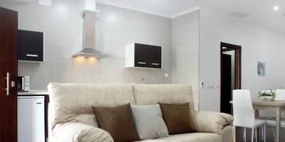 Loft Adaptado Platero Leiva_#LoftODB6: Salones de estilo moderno de Mohedano Estudio de Arquitectura S.L.P.