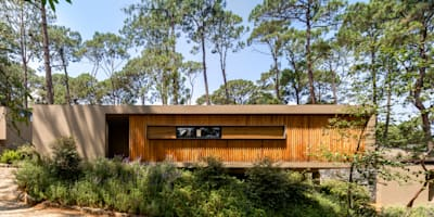 scandinavian Houses by Weber Arquitectos