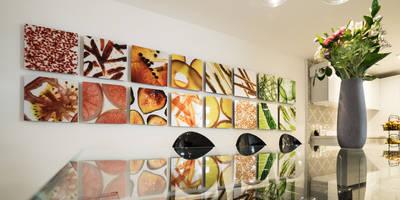غرفة السفرة تنفيذ HO arquitectura de interiores