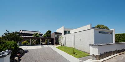 外観: H建築スタジオが手掛けた家です。