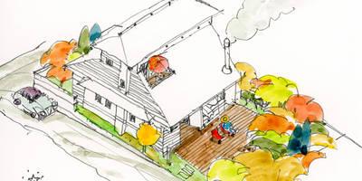 【その先の、さらに先。近未来の生活】: (株)独楽蔵 KOMAGURAが手掛けた家です。