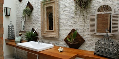 eclectic Bathroom by MBDesign Arquitetura & Interiores