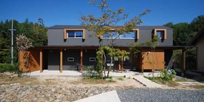 東広瀬の家: 神谷建築スタジオが手掛けた家です。
