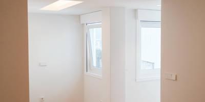 Quartos minimalistas por Intra Arquitectos