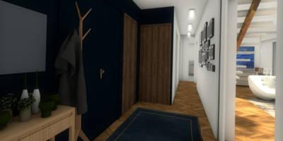 Vue de l'entrée: Dressing de style de style Moderne par Dem Design