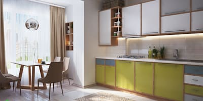 Projekty,  Kuchnia zaprojektowane przez Polygon arch&des
