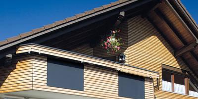 Fassadenprofil Raute jetzt auc in Thermokiefer: moderne Häuser von Braun & Würfele - Holz im Garten