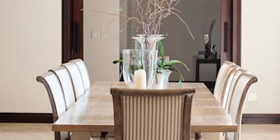 Dining Room: country Dining room by Tru Interiors