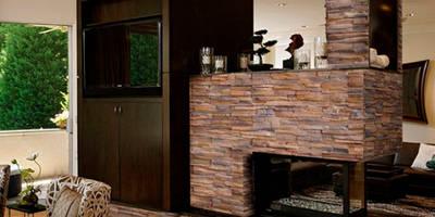 Piedra Apilable Peñasco Canela:  de estilo  por ENFOQUE CONSTRUCTIVO