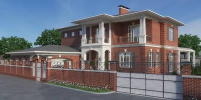 Резиденция в г. Новочеркасск: Дома в . Автор – studio forma