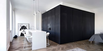 minimalistic Kitchen by INT2architecture