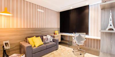 Dormitorios de estilo moderno de Lícia Cardoso e Rafaella Resende
