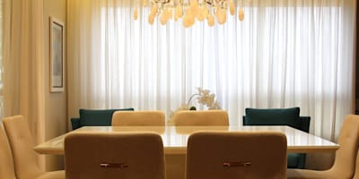 modern Dining room by Angelica Hoffmann Arquitetura e Interiores