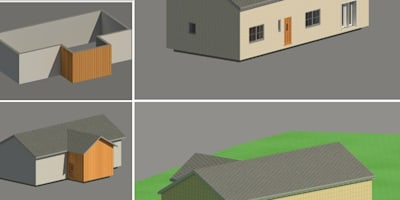 New Family Home Design - In Progress Pictures from Revit:   by Heath Architecture