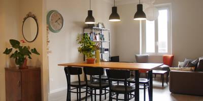 scandinavian Dining room by Archenjoy - Studio di Architettura -
