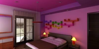 Projekty,  Pokój dziecięcy zaprojektowane przez OLLIN ARQUITECTURA