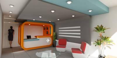 Projekty,  Domowe biuro i gabinet zaprojektowane przez OLLIN ARQUITECTURA