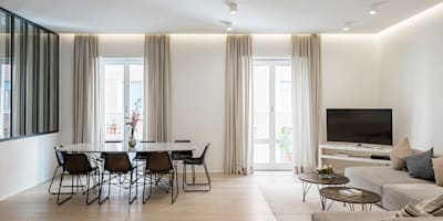 modern Living room by Archenjoy - Studio di Architettura -