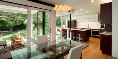 Matt 'n Ross: modern Kitchen by KUBE Architecture