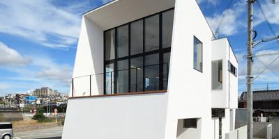 haus-bank: 一級建築士事務所hausが手掛けた家です。