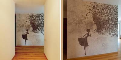 : Ingresso, Corridoio & Scale in stile in stile Moderno di NOS Design