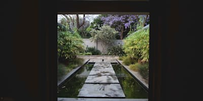 House Pont: modern Garden by Swart & Associates Architects
