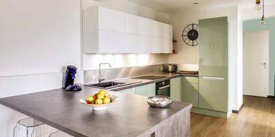 Renovation Appartement Tourcoing:  de style  par Unlimited Design Lab