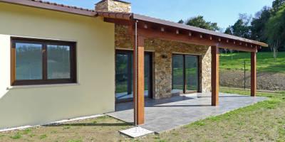 Vivienda en Sarela de Arriba: Casas de estilo moderno de AD+ arquitectura